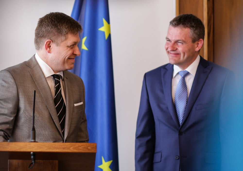 Premiér Fico je opäť v parlamente. Foto N - Tomáš Benedikovič