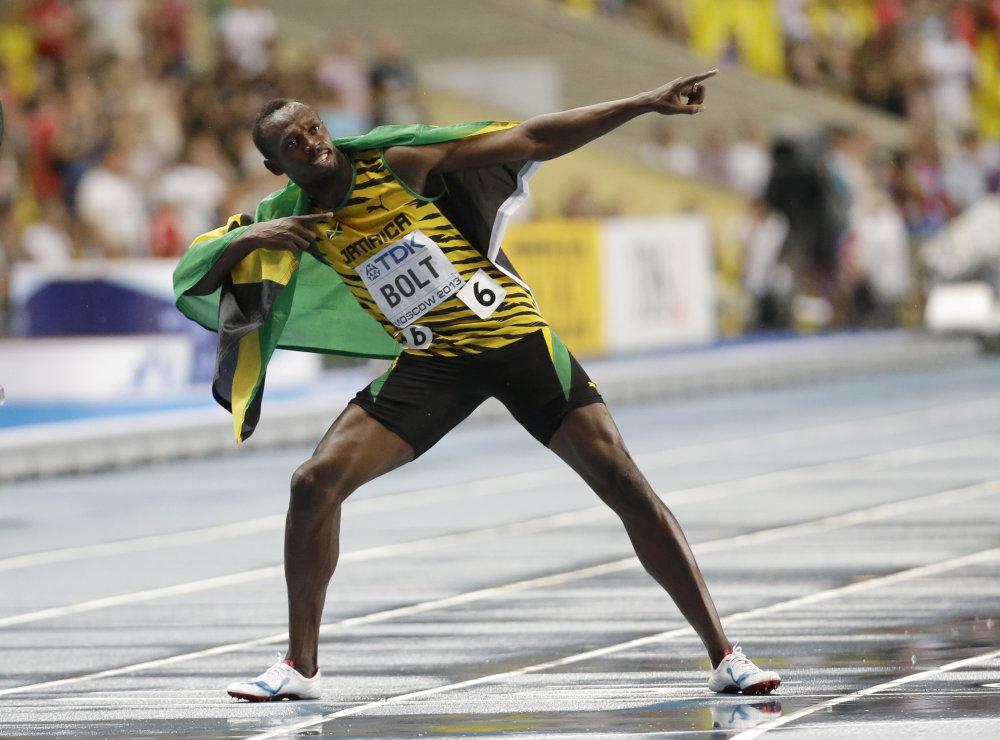 Uasin Bolt je za prísne tresty. foto - TASR/AP