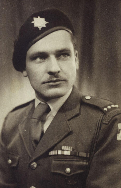 Ján Bačík v rou 1945. Foto - Post Bellum