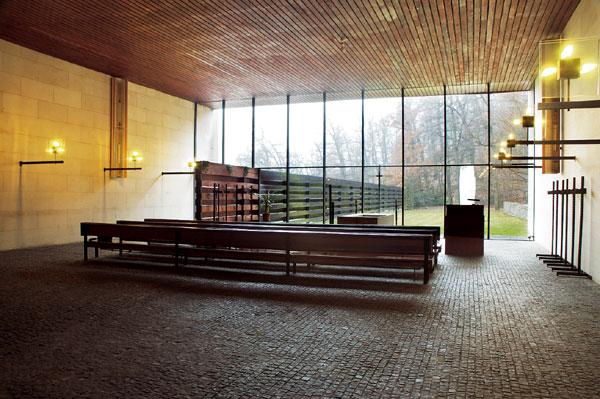 Krematórium od Ferdinanda Milučkého v Bratislave. Foto - Petra Bošanská.