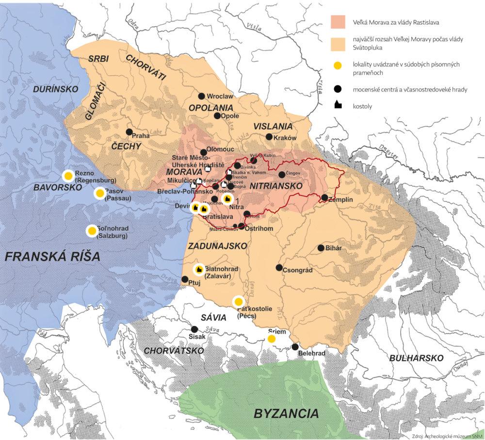 Mapa - Archeologické múzeum Bratislava, SNM