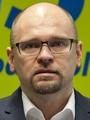predseda strany SaS Richard Sulík, èlenovia poslaneckého klubu Juraj Droba a Eugen Jurzyca tlaèová konferencia