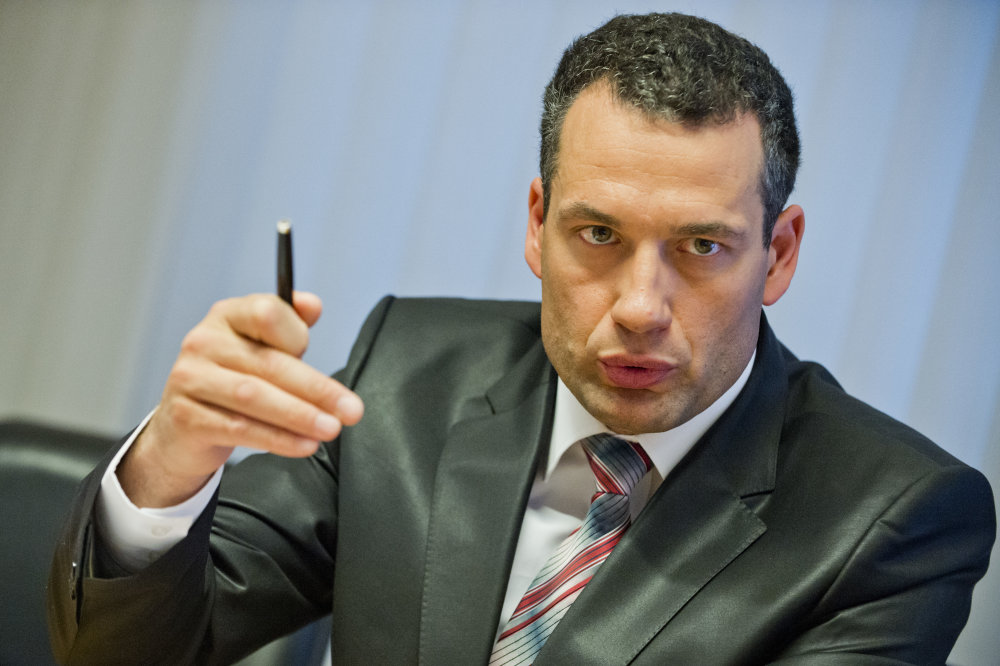 Generálny riaditeľ Všeobecnej zdravotnej poisťovne Marcel Forai. Foto - TASR