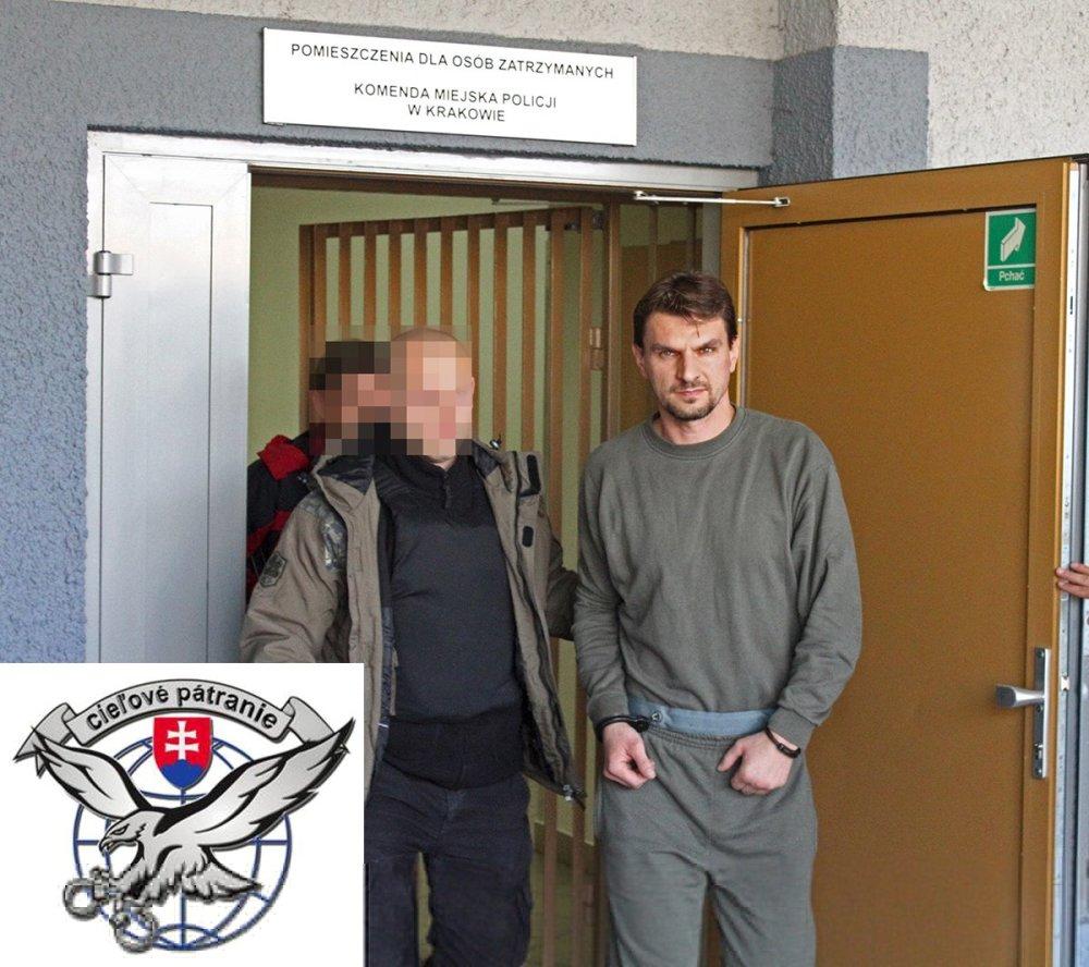 """""""Bol zadržaný jeden z najhľadanejší a najnebezpečnejších predstaviteľom podsvetia,"""" povedal Spišiak v roku 2010. FOTO - TASR"""