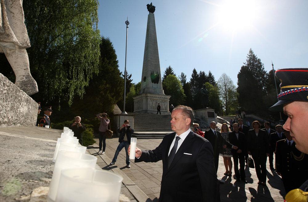 Prezident vo Svidníku. Foto - Prezidentská kancelária