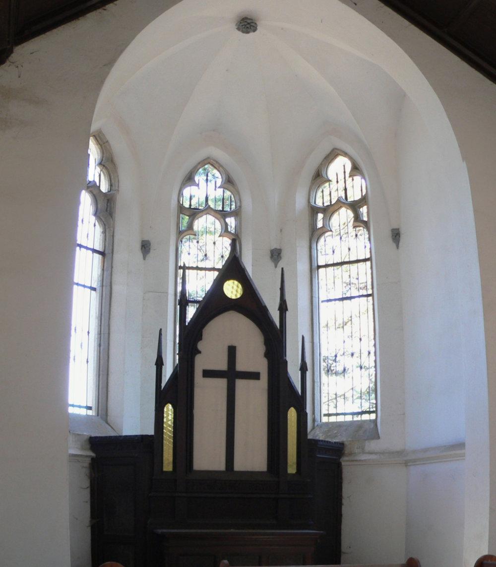 Interiér kostola, foto © Fedor Polóni