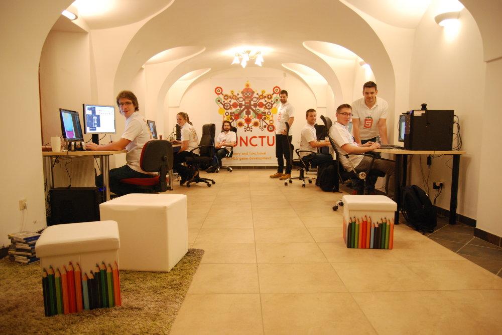Prešovskí vývojári počítačových hier. Foto - Functu