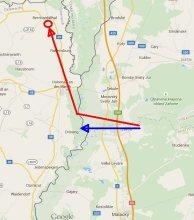 Hlavatý-mapa