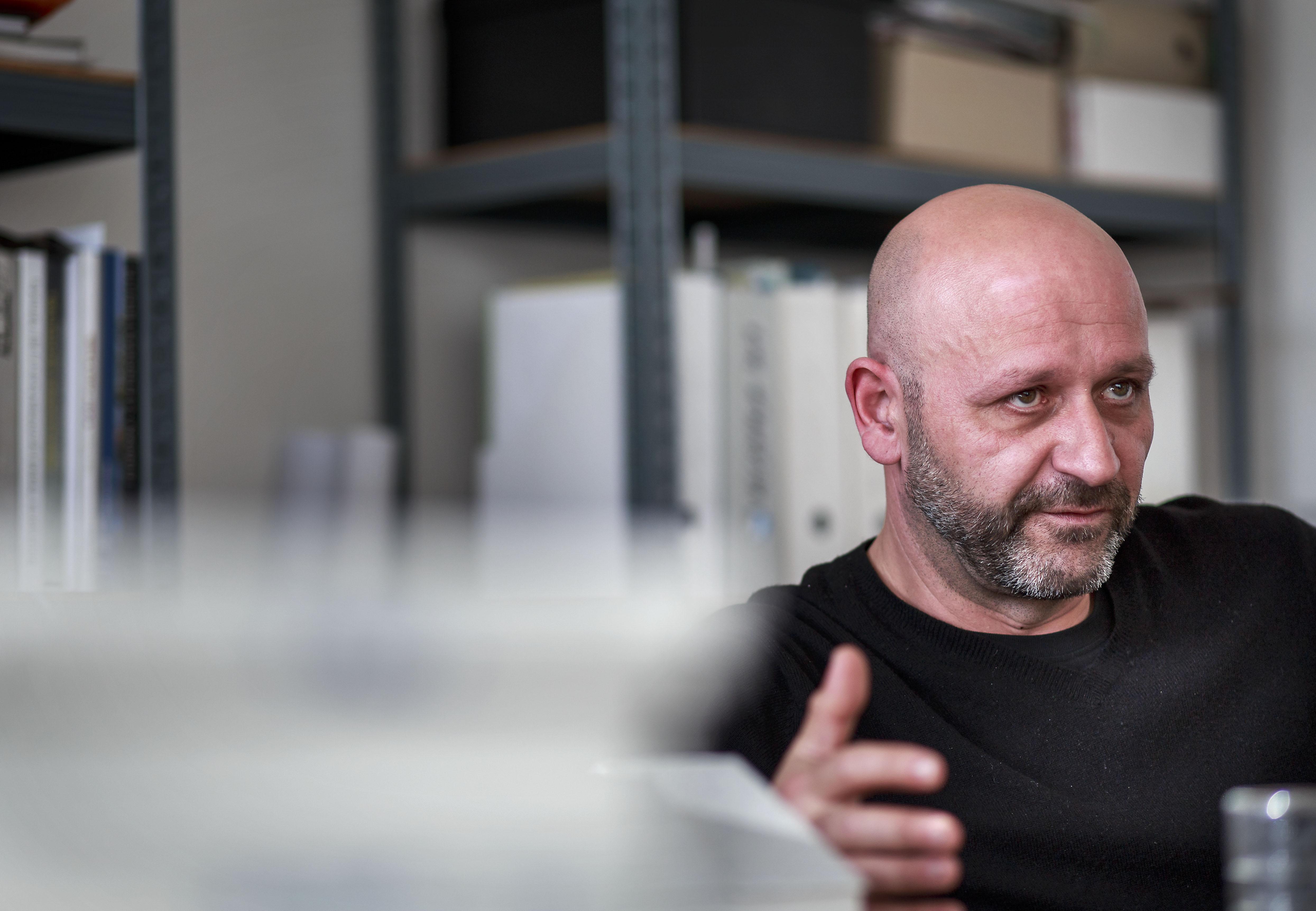 Prešov 21.4. 2015. Architekt Irakli Eristavi. Foto N - Tomáš Benedikovič
