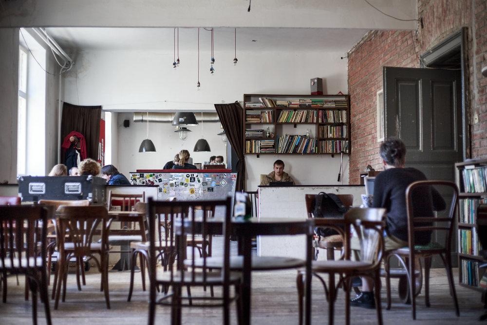 Pôvodný ostane len bar s klubom od ulice, ktorí už Košičania dobre poznajú. Foto N - Tomáš Benedikovič