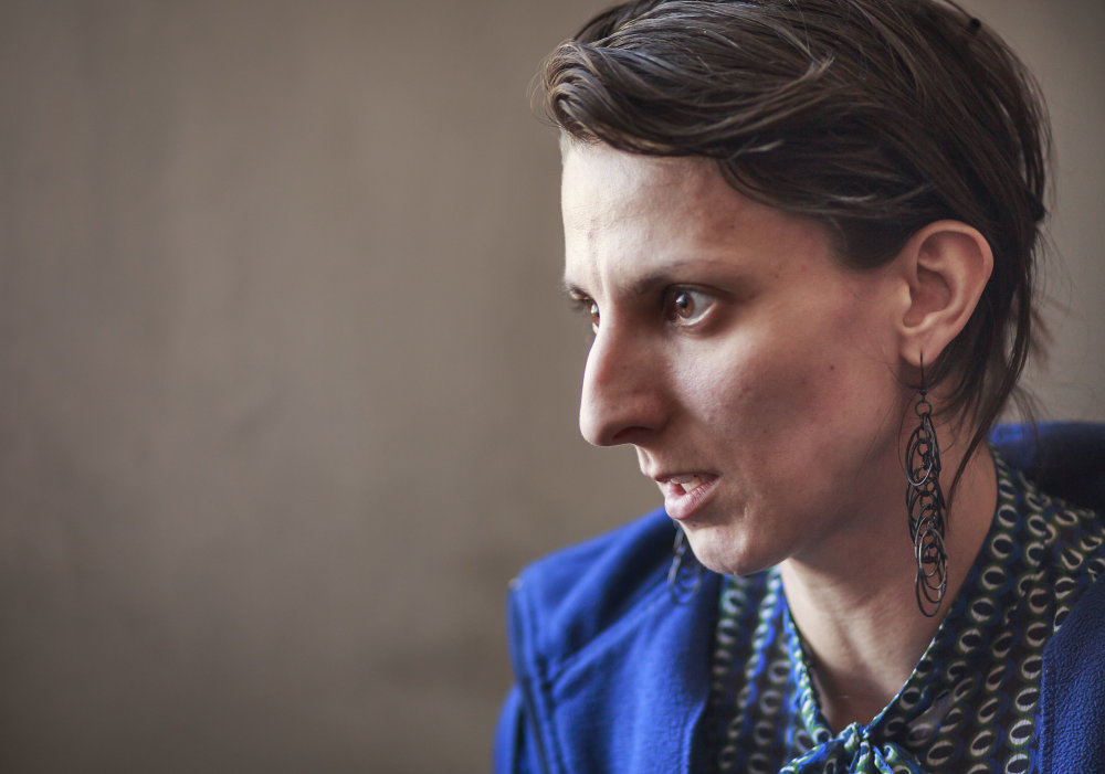 Zuzana Psotková, spoluzakladateľka divadla Na peróne, ktoré bude tiež sídliť v Tabačke. Foto N - Tomáš Benedikovič