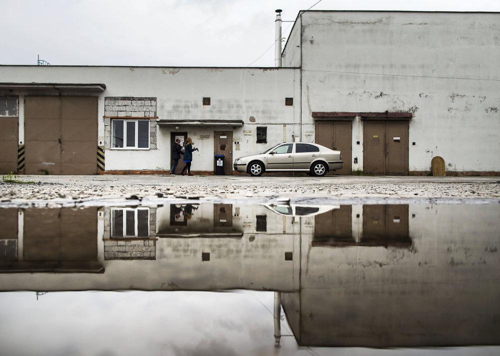 Sídlo firiem Alfamedia, Alfamedis, Alfazvolen a Car Leftex na predmestí Trenčína. Foto N - Tomáš Benedikovič