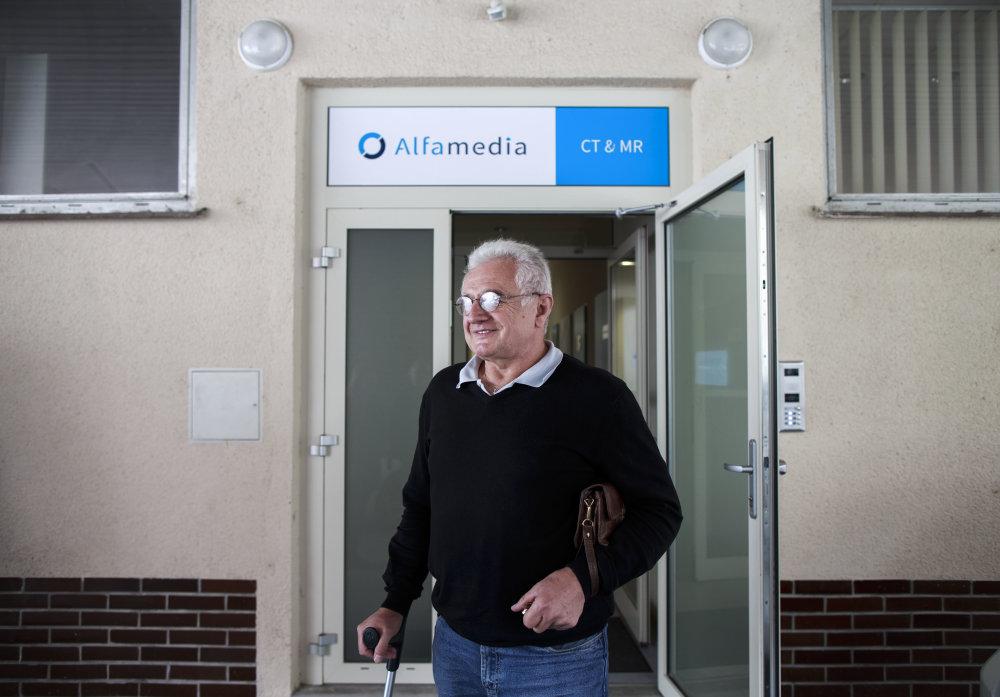 Konateľ firmy Alfamedia Miroslav Lepóni . Foto N - Tomáš Benedikovič