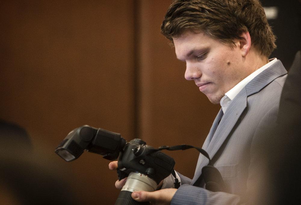 Syn predsedu Roberta Fica, Michal Fico počas pracovného snemu strany Smer. Foto N - Tomáš Benedikovič
