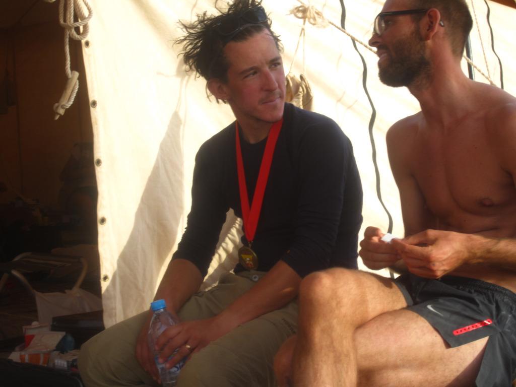 Na Sahare počas 'Marathon des sables', v zdravotnom stane