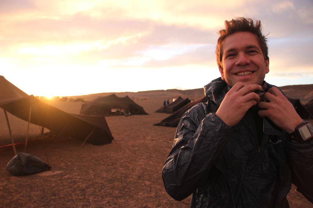 Ráno na Sahare
