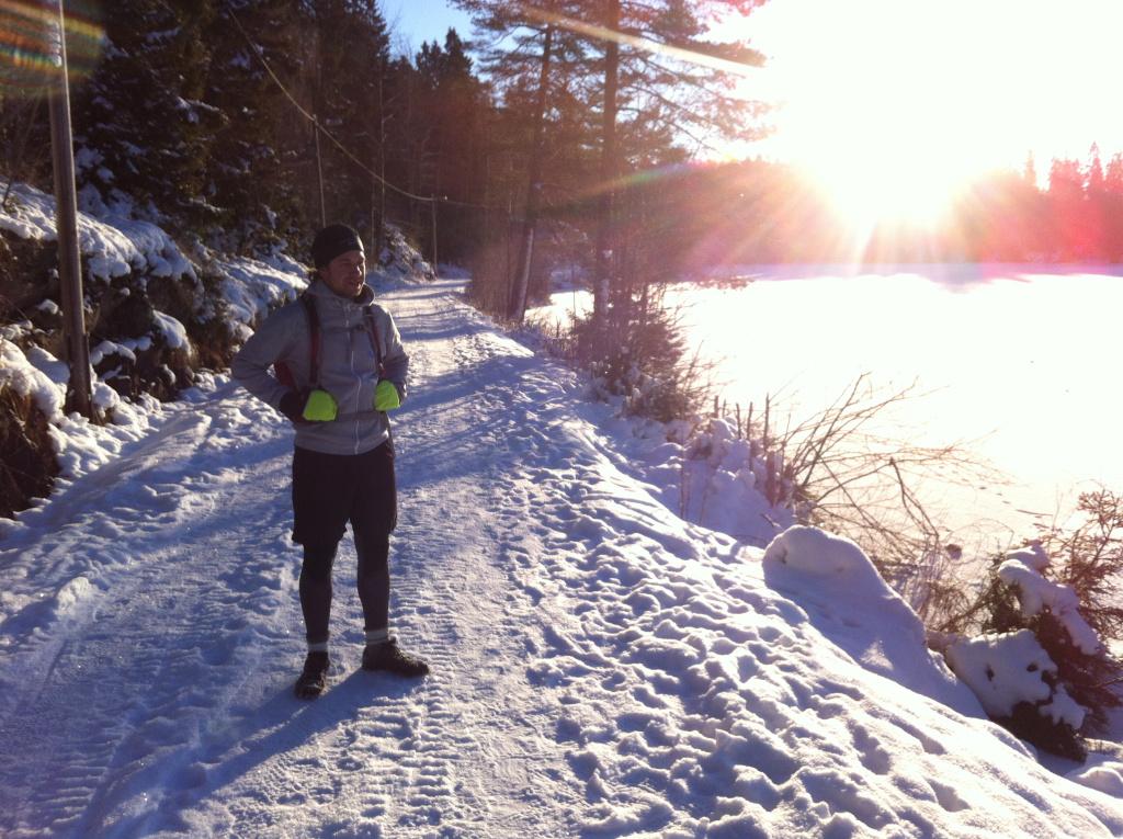 Zimný tréning v Oslo