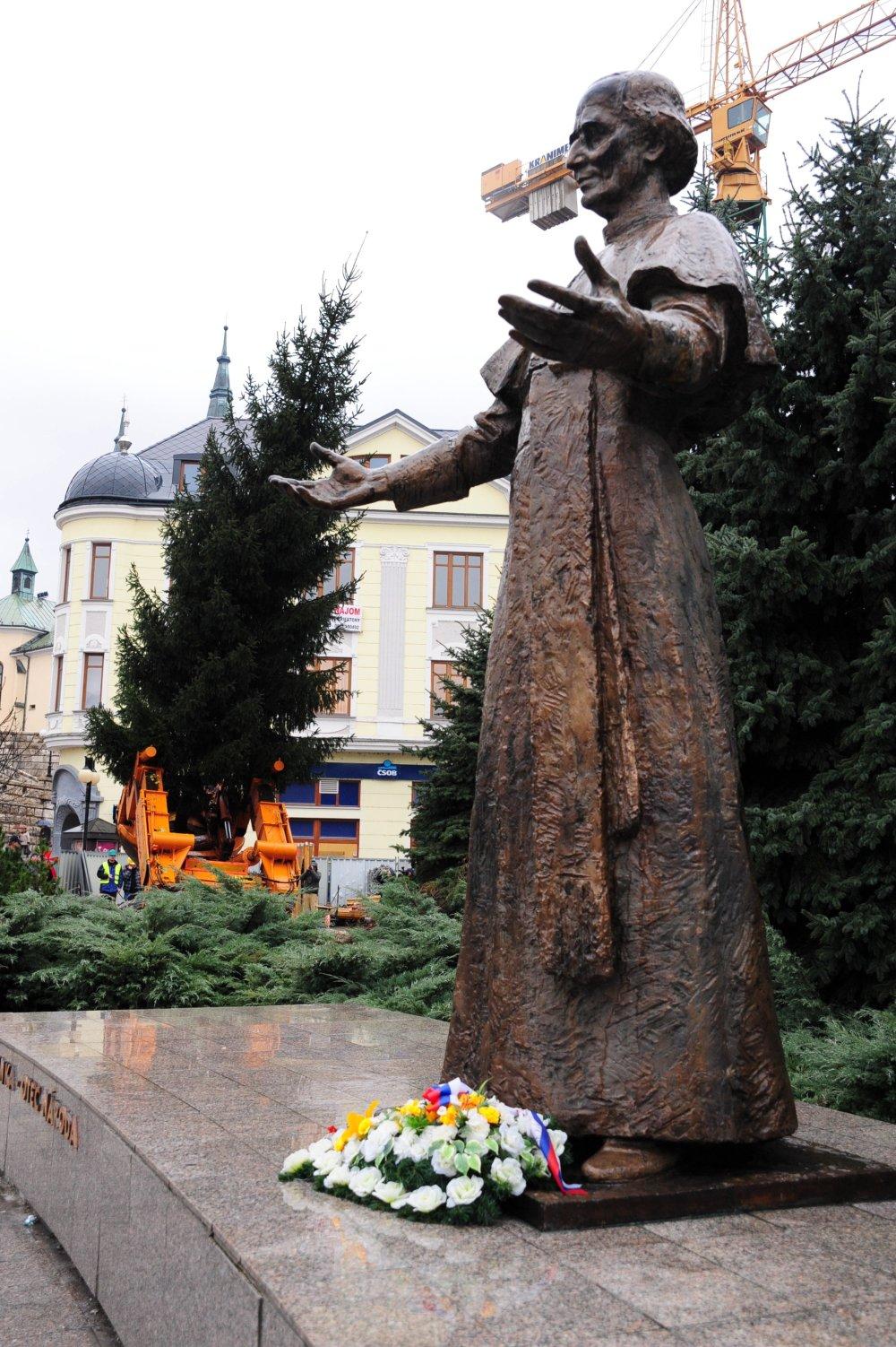 Andrej Hlinka v Žiline. Foto - TASR
