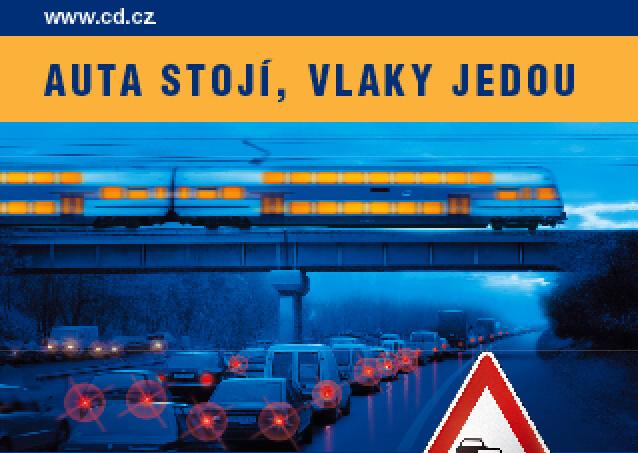 Vlaky nestoja, tvrdili svojho času České dráhy na často parodovanom bilborde.