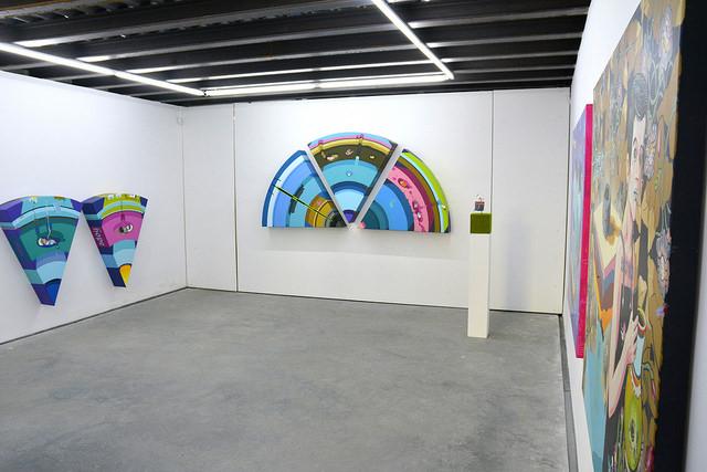 Z výstavy v galérii Plusmínusnula v Žiline. Foto - Dalibor Adamus.