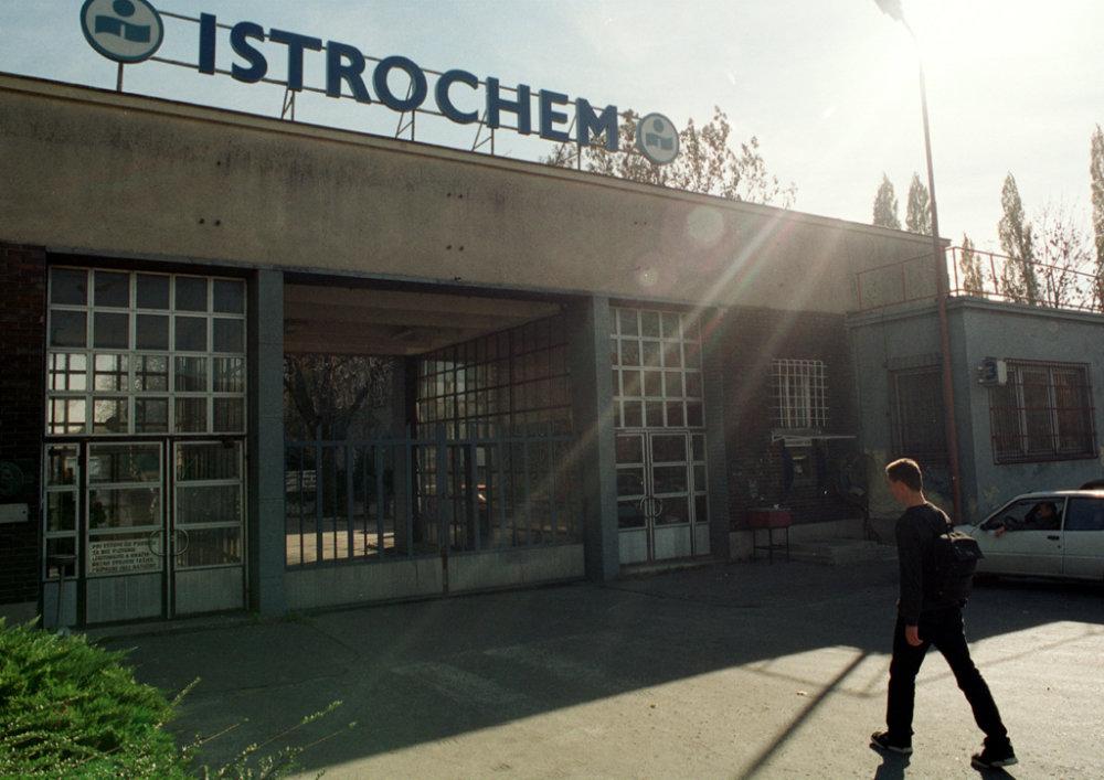 Na mieste Dynamitky je dnes Istrochem, kúpil ho Agrofert Andreja Babiša. Foto - TASR