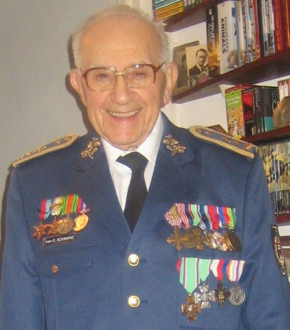 Ivan Schwarz v roku 2012. Foto - Post Bellum