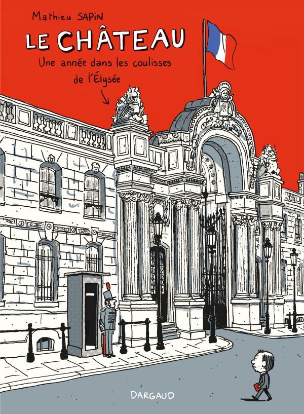 Obálka komiksu o Elyzejskom paláci.