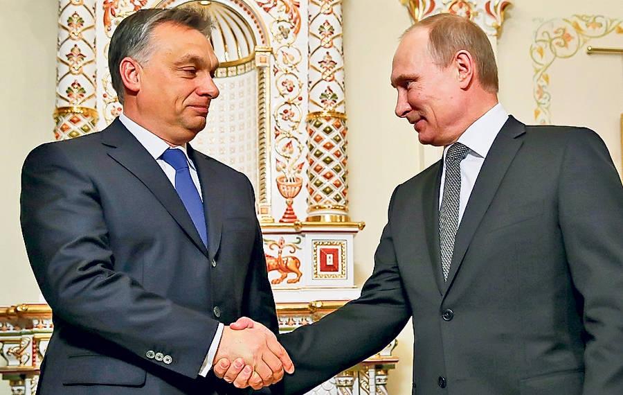 S Vladimirom Putinom. foto - TASR/AP