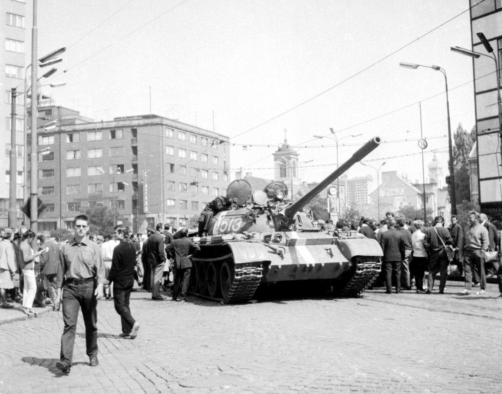 V roku 1968 nám po invázii vojsk Varšavskej zmluvy OSN nepomohla. Foto – TASR