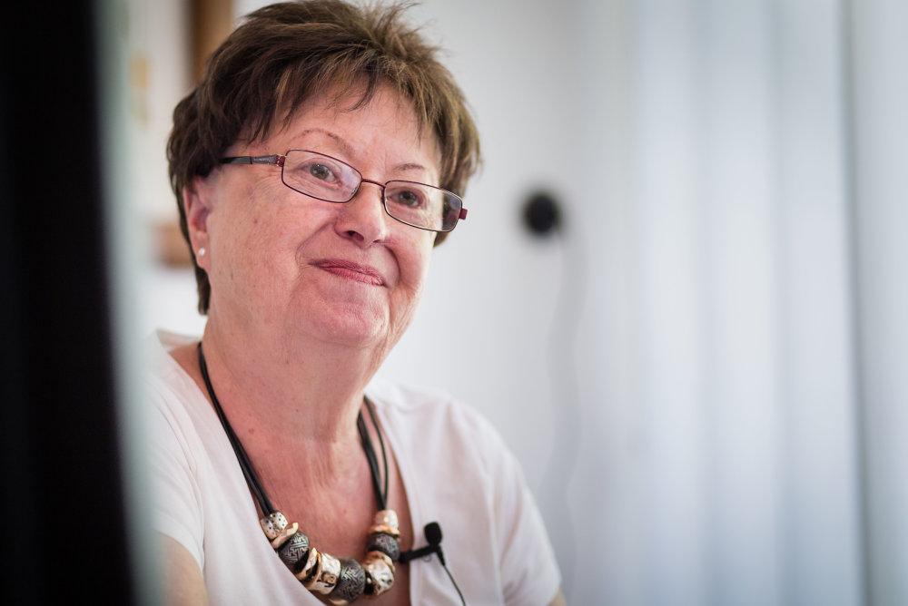 Bývalá primátorka mesta Hurbanovo Margita Zemková. Foto N - Tomáš Benedikovič