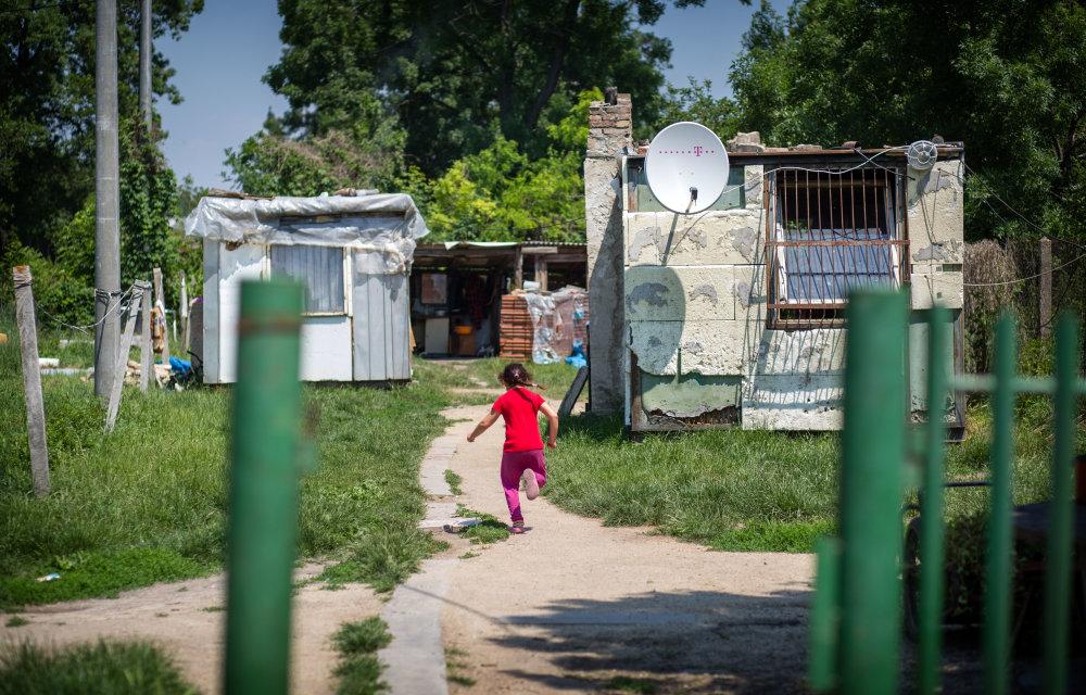 Rómovia v Hurbanove. Foto N - Tomáš Benedikovič
