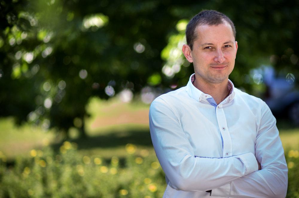 Realitný maklér Martin Čapo. Foto N - Tomáš Benedikovič