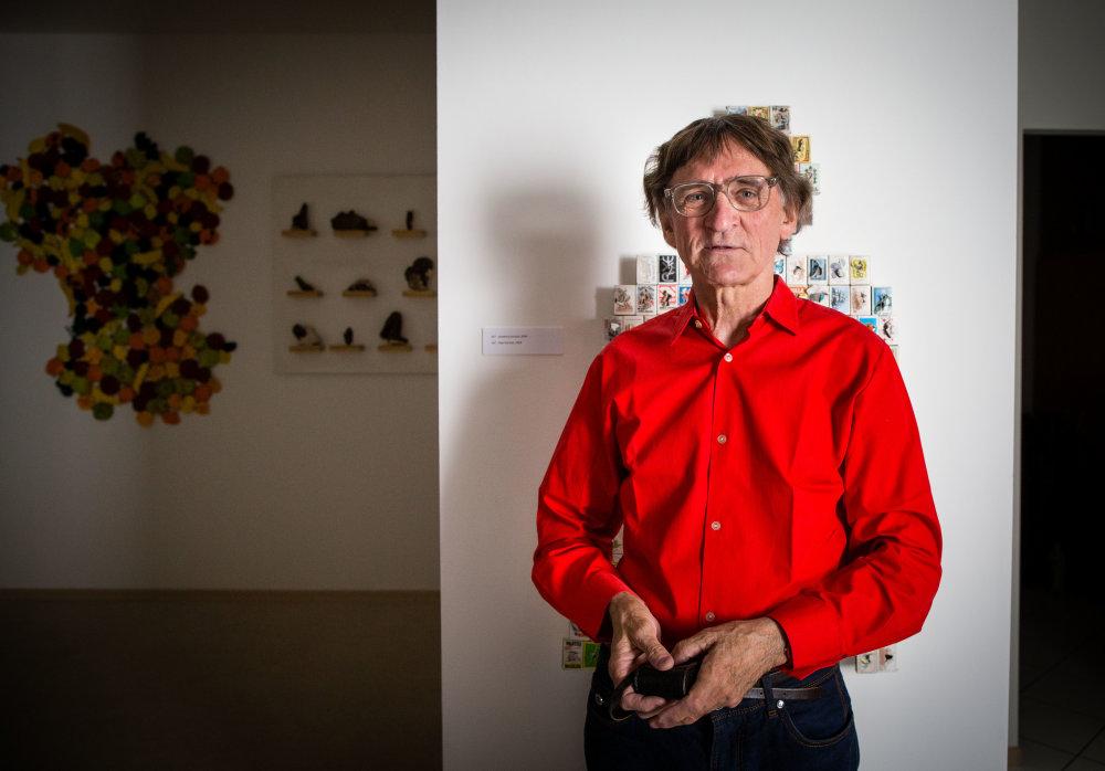 Výtvarník Otis Laubert. Foto N - Tomáš Benedikovič