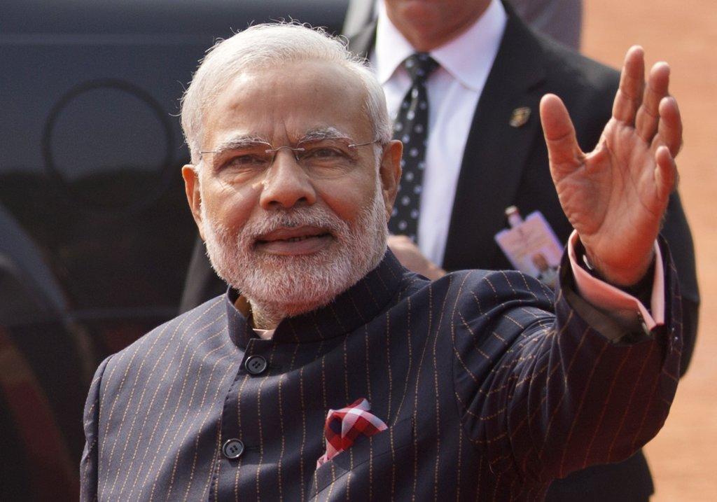 Indický premiér Narendra Modi. FOTO - TASR/AP