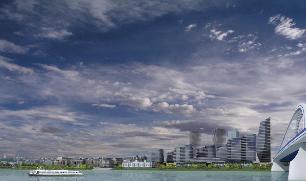 panorama eurovea a panorama city