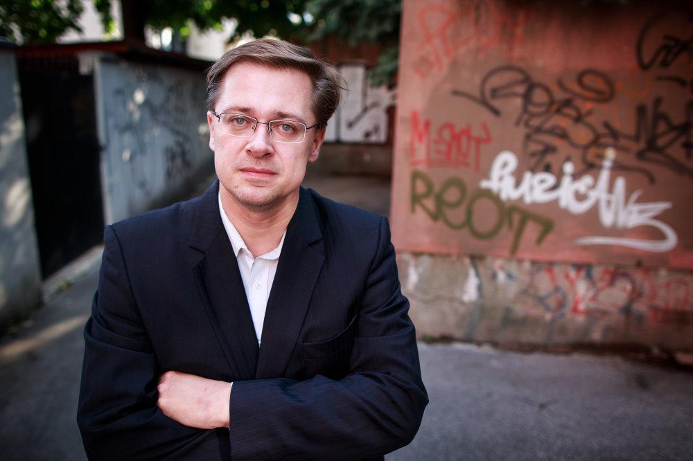 Michal Vašečka. Foto N – Tomáš Benedikovič