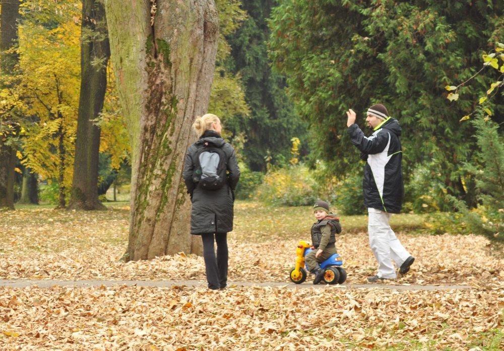Jesenný park v Banskej Bystrici. FOTO TASR - Jozef Ďurník