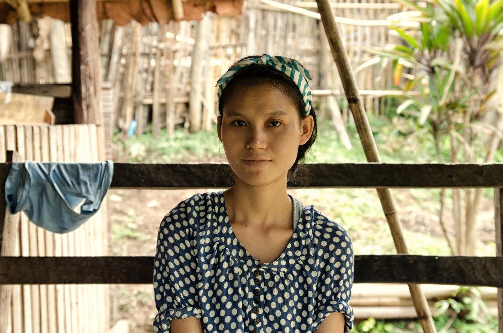Tar Mu Lar Soe mala 20 rokov. V utečeneckom tábore sa narodila a nikdy z neho nevyšla na viac ako na pár hodín. Foto - Tomáš Forró