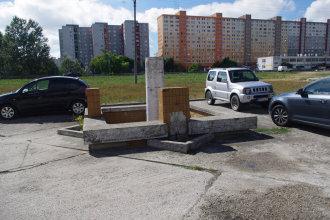 Alternatívne parkovanie v niekdajšom trhovisku na Topoľčianskej ulici. Autor: V. Dolinay