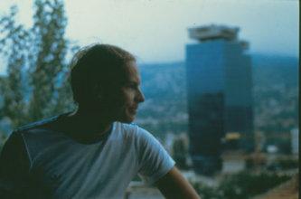 Jan Kulíšek v Sarajeve 1984