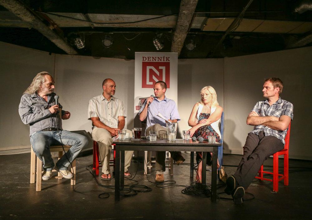 Pondelková debata Denníka N o Grécku. Foto N - Tomáš Benedikovič