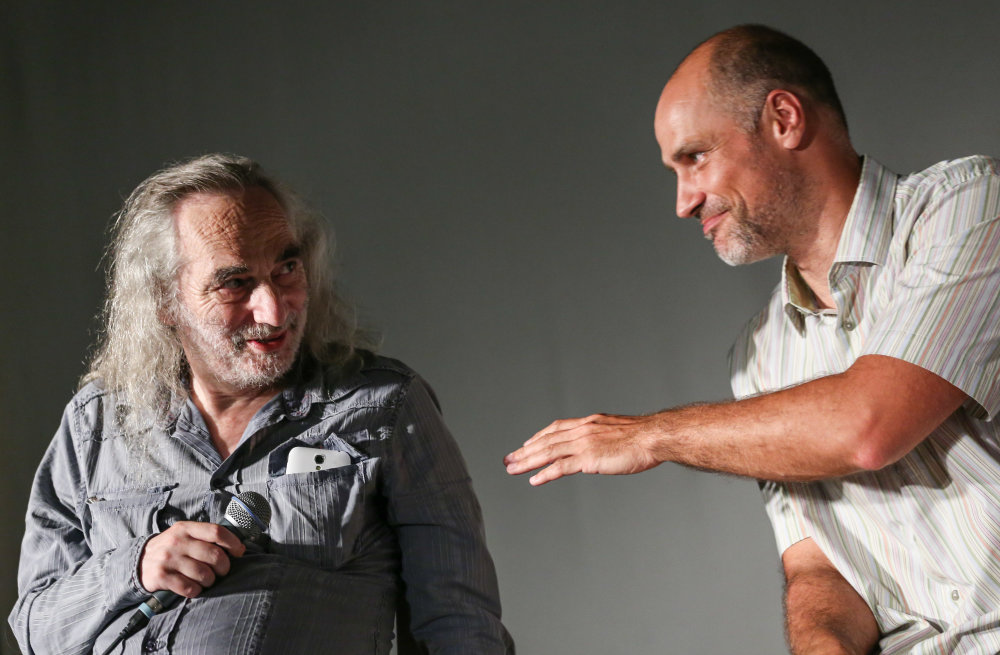 Peter Schutz a Juraj Karpiš. Foto N - Tomáš Benedikovič
