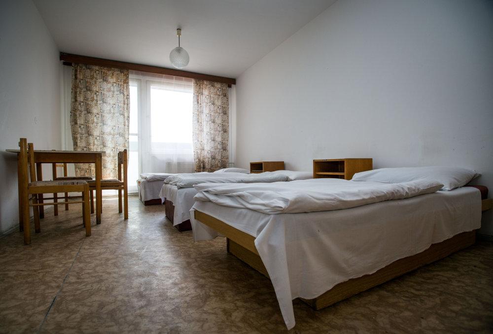 Neveľké, skromne zariadené izby. Foto N - Tomáš Benedikovič