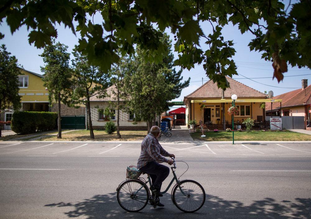 Gabčíkovo, 16.7. 2015. Gabčíkovo, kde by mohli byť ubytovaný utečenci. Foto N - Tomáš Benedikovič