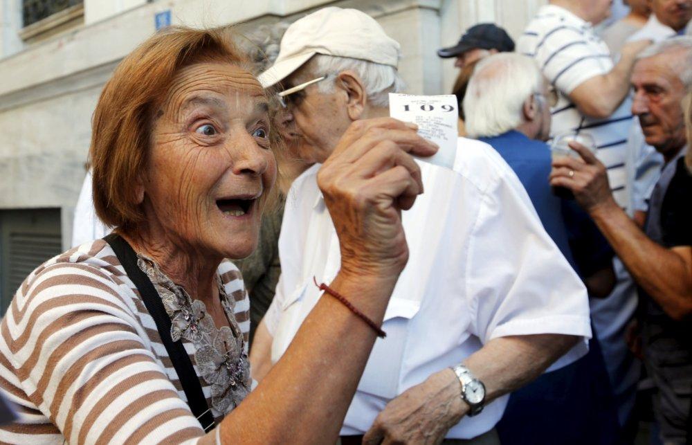 Grécky dôchodcovia.