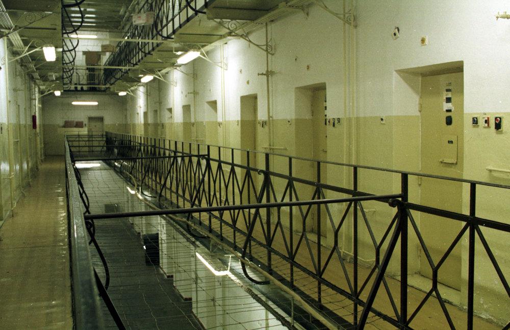 Interiér leopoldovskej väznice. FOTO - TASR