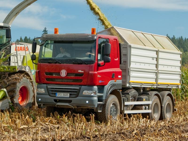 Jednou z cieľových skupín Tatry sú farmári, ktorí môžu využiť dobrú priechodnosť terénom  českých vozidiel. Foto - Tatra