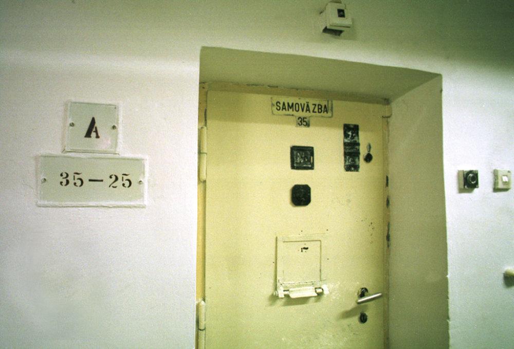 Za dverami je cela. FOTO - TASR