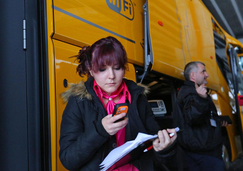Stewardky patria k biznisu českého dopravcu už viac než desať rokov. Foto - TASR