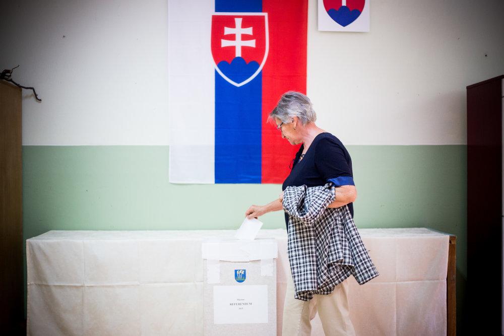 Gabčíkovo dnes hlasuje proti ubytovaniu utečencov v ich obci. Foto N - Matej Dugovič